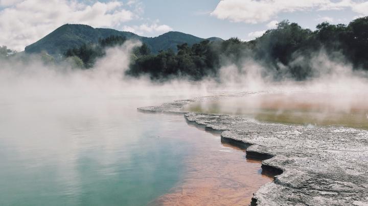 Le centre de l'île du nord : de Rotorua auTongariro