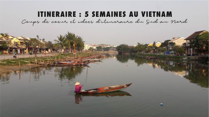 Itinéraire : 5 semaines auVietnam