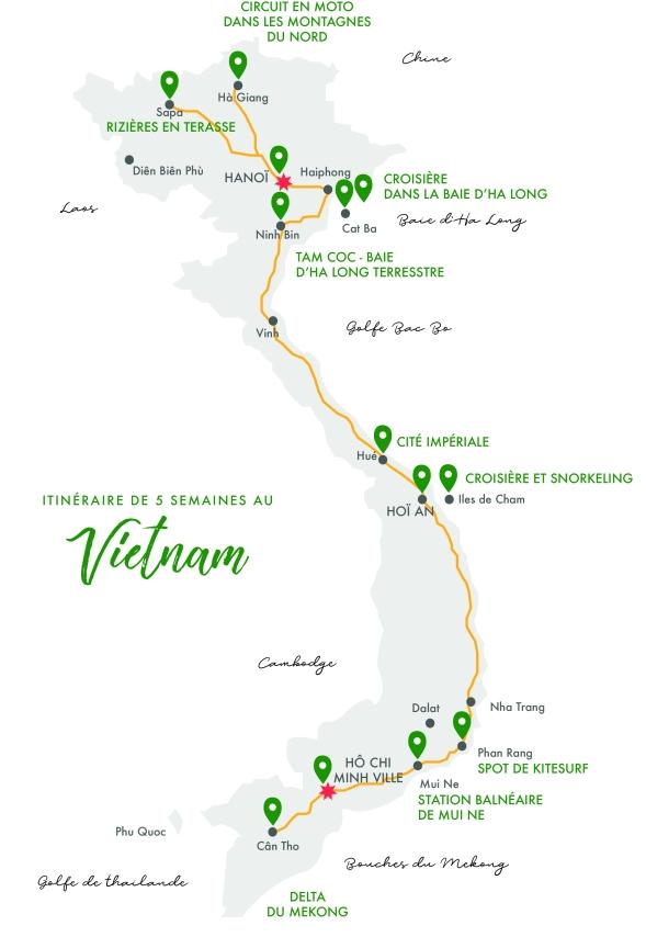 VIETNAM MAP monts & merveilles blog